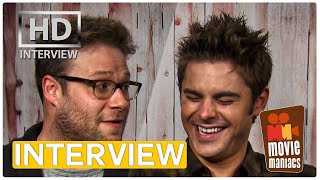 Bad Neighbors Zac Efron & Seth Rogen Exclusive Interview