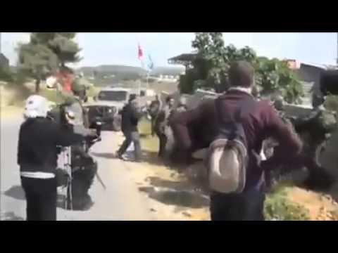 العنة على كل رئيس عربي   شاهد الفيديو   اغتصاب بنات مسلمات   في فلسطين