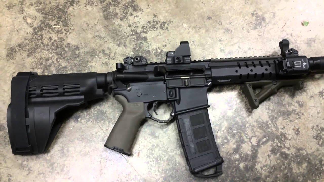 ar-15 300 blackout pistol build