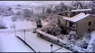 Pietradefusi , ore 08:00 Del mattino 3 \ febbraio \ 2012 ...Nevica ! view on youtube.com tube online.