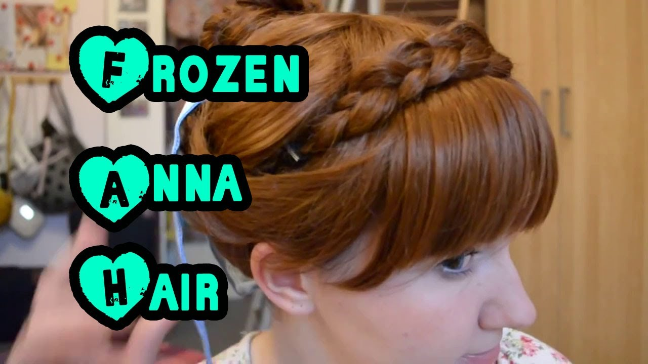 maxresdefault jpgAnna Frozen Hair Up
