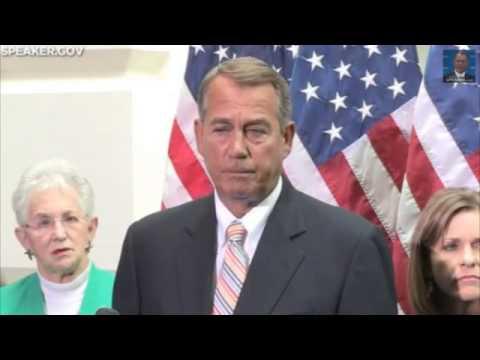Boehner On Calls For Obama's Impeachment: 'I Disagree'