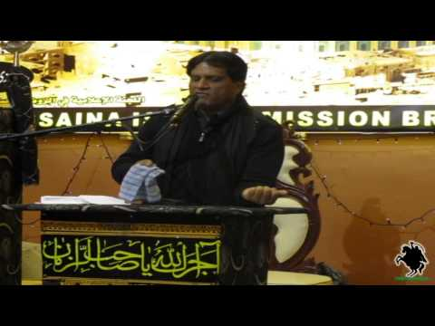 Zakir Syed Zaigham Abbas Shah - Masaib of Bibi Zainab (s.a.) - Bradford (UK) - 8th May 2013