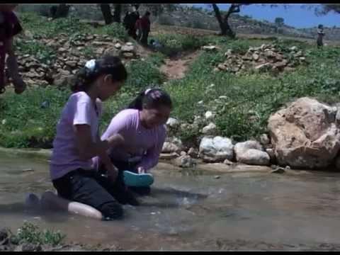 مياه نبع عين قينيا ملوثة بالمجاري