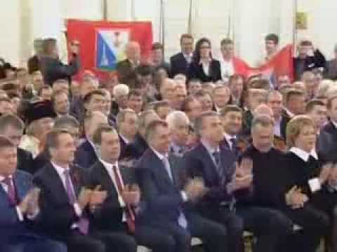 Putin recognises Crimean independence