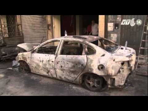 VTC14_Thanh niên Syria lập Facebook để theo dõi tình hình chiến sự