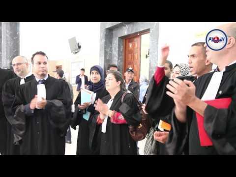 تضامن هيئة المحامين المغاربة مع الأسرى الفلسطينيين المضربين عن الطعام