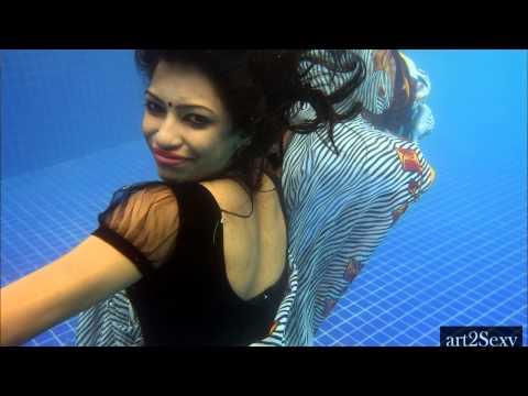 Miss Saree Malaysia 2013 Outdoor and Underwater saree photo shoot (YES ! BELIEVE IT)