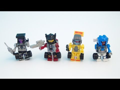 TRANSFORMERS KRE-O STUNTICONS AND MENASOR PLAYSET BUILD VIDEO