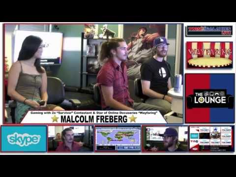 THE LOUNGE: GAMING W/ SURVIVOR'S MALCOLM FREBERG