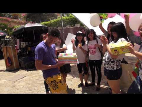 Ngô Kiến Huy bị fan hành hạ mừng sinh nhật 29/6/2015