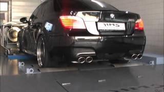 BMW M5 V10 mit HMS-Klappenabgasanlage videos