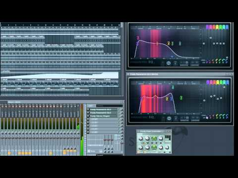 Advanced Psy Trance Sidechaining Kick/Bass Tutorial - FL Studio 10 - 1080p HD