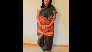 How To Drape A Tamil Iyengar Madisar 6 Yard