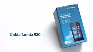 MOVISTAR Nokia Lumia 520 Unboxing