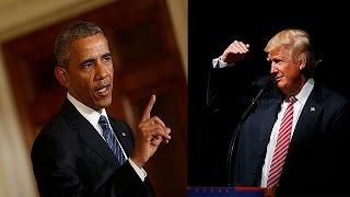 أوباما: المرشح دونالد ترامب غير مؤهل لمنصب الرئاسة |