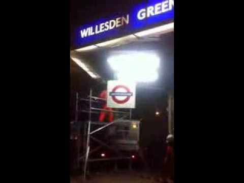 Workers at Willesden Green Tube Station are being accused of making residents lives a misery