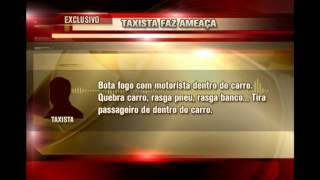 Motoristas do Uber denunciam sofrer amea�as e agress�es de taxistas em BH