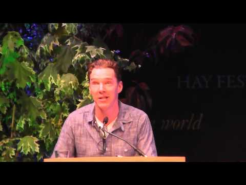 1 of 2 - Benedict Cumberbatch and Louise Brealey read Chris and Besse at Letters Live, Hay Festival