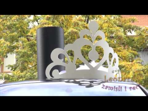 Dekoracija automobila za svadbe, cvecara
