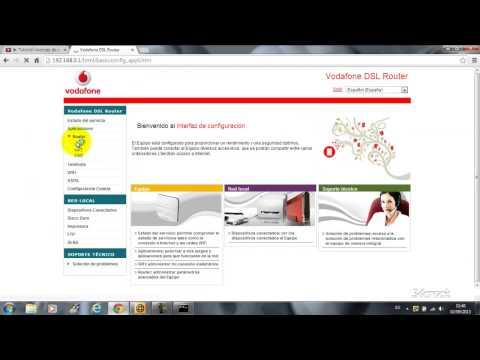 Abrir puertos Router Vodafone