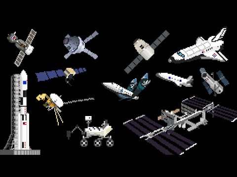 Spacecraft - Space Vehicles & Spaceships - The Kids' Picture Show (Fun & Educational Learning Video)