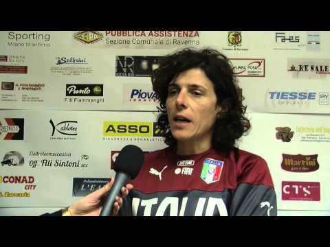 Amichevole San Zaccaria-Italia Under-17, intervista al c.t. Rita Guarino