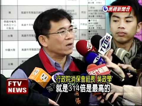 橡皮擦抽檢可塑劑 6成不合格!-民視新聞 - YouTube