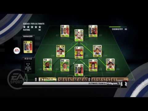 Новый трейлер FIFA 10 Ultimate Team