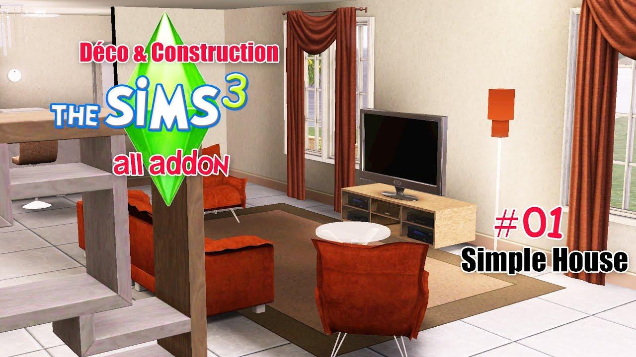 D co construction une simple maison 01 youtube for Decoration maison youtube