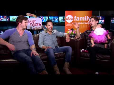 Jean-Luc Bilodeau, Derek Theler and Tahj Mowry Interview - Baby Daddy