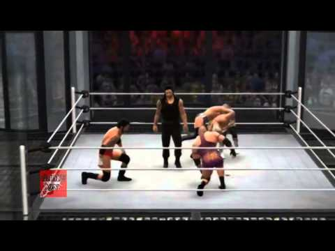 WWE Elimination Chamber 2014   February 23 2014 Full Show Gameplay Let's Play WWE 2K14 2nd Sugg
