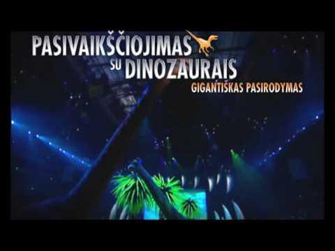 Pasivaiksciojimas su dinozaurais