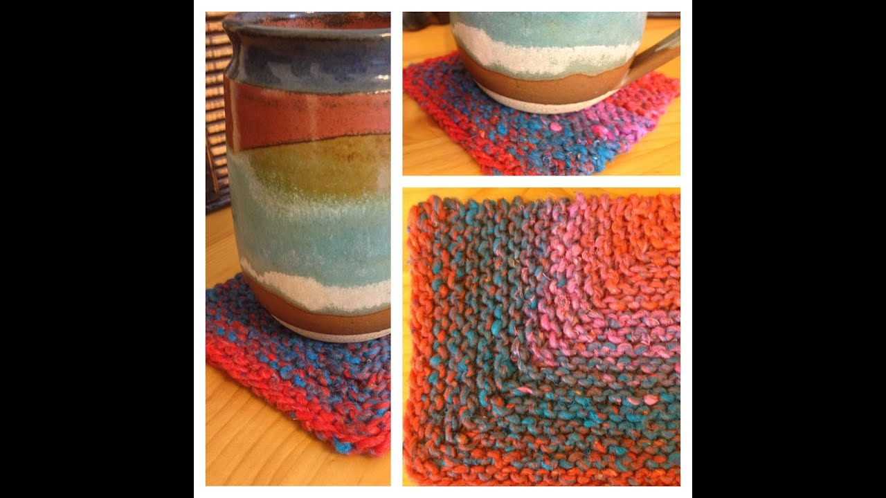 Knit-a-square