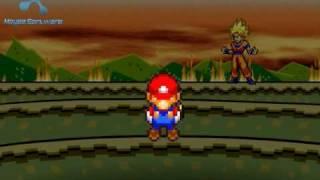 Goku Vs Mario Bros 2: The Revenge Part 2/5