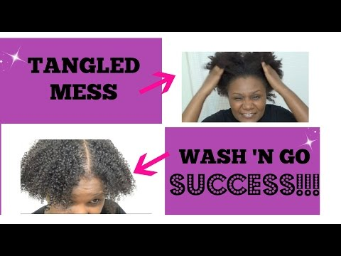 Nappylicious: Detangling My Natural Hair with Silicon Mix