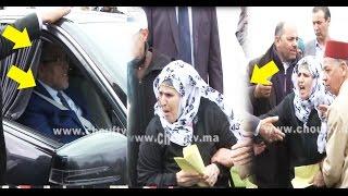 بالفيديو..لحظة هجوم سيدة على وزير العدل مصطفى الرميد بالبيضاء قبل توجهه إلى اجتماع الأمانة العامة للبيجيدي بعد قرار الملك |