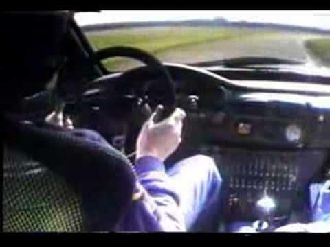 Colin McRae speelt met een Subaru Impreza 555 gr.A