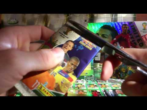 UNBOXING WORLD CUP BRAZIL 2014 MEGA KULA
