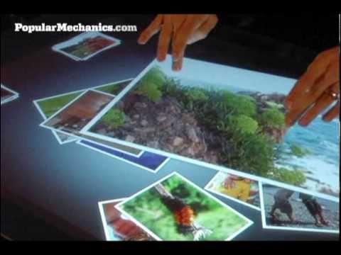 Microsoft Surface Multimedia Coffee Table Youtube