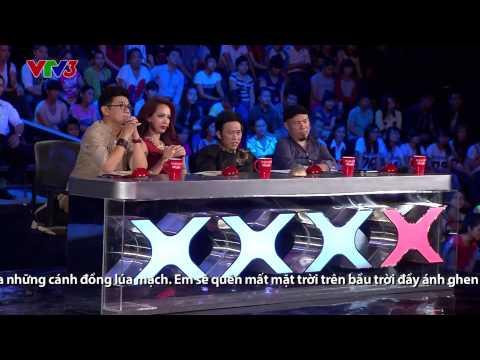 Vietnam's Got Talent 2014 - TẬP 05 - Hát 4 thứ tiếng - Thanh Nhàn