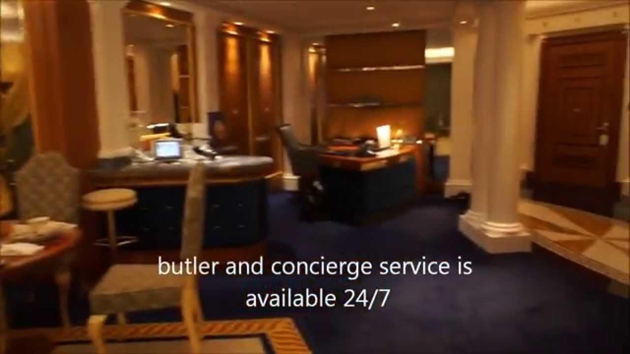 Burj Al Arab Deluxe Suite Youtube