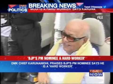DMK Chief M Karunanidhi eyes BJP?