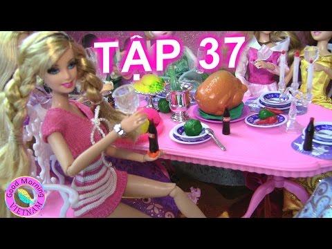 Cuộc Sống Barbie & Ken (Tập 37) Barbie Và Tiệc Công Chúa Disney - Disney Princes' s Party Barbie