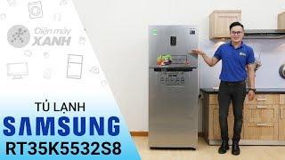 Tủ lạnh Samsung RT35K5532S8 - Tinh tế trên từng đường nét