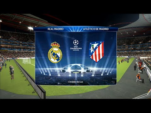 Real Madrid vs Atlético - Champions League Final PES2014