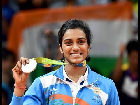 Rising Stars: P.V.Sindhu badminton