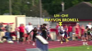 Gibbs' Trayvon Bromell Does It Again