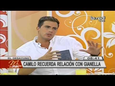 Camilo Huerta recuerda su relación con Gianella Marengo