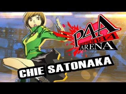 Persona 4 Arena Move Video: Chie Satonaka